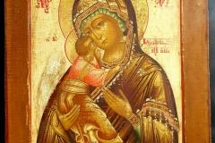 Икона Владимирской Божией Матери. Размеры: 35х29,5. Новодел.