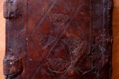 Псалтирь 19 века после реставрации. Общий вид задней крышки.